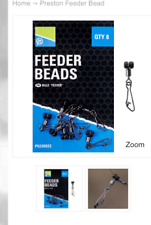 PRESTON INNOVATIONS FISHING - FEEDER BEADS  -  8 PER PACK
