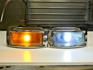 Bi Color LED Signal Parking Light Conversion 1948 1949 1950 Ford Pickup Truck