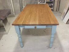 6'X3' HAMPSHIRE PAINTED TABLE HANDMADE BESPOKE SIZES & COLOURS F&B GREEN BLUE