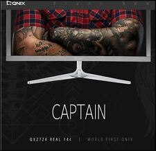 "QNIX - QHD2724 Real 144 CAPTAIN 27"" 1920 x 1080 @ 144Hz FHD/16:9 /DCR1,000,000:1"