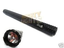 Ultrafire X-110 X-ML T6 security torch flashlight + 18650 batteries & charger