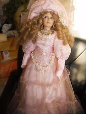 "Beautiful porcelain doll 27"""