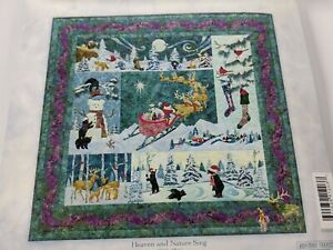 Heaven and Nature Sing Quilt Kit - 6 Patterns & Fabric McKenna Ryan