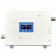 NEW Tri Band Repeater 2G 3G 4G SIGNAL BOOSTER GSM 900 DCS/LTE 1800 WCDMA/UMTS 21