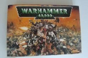 Vintage Games Workshop Warhammer 40000  Box & Parts Only