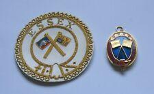 Masonic Essex Mark Provincial Apron Badge & Collar Jewel -STB ( STFH)