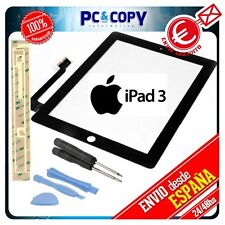 PANTALLA TACTIL PARA IPAD 3 NEGRA DIGITALIZADOR CRISTAL TOUCH SCREEN iPad3 NEW