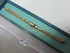 "New Kreisler Vintage 10K Gold Filled Ladies Watch Band.5 1/4"" & Stretch.Wow"