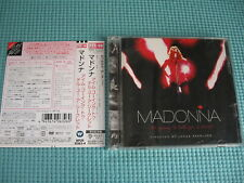 Madonna Dvd+Cd I'm Going To Tell You A Secret 2006 Oop Japan Wpzr-30163~4 Obi