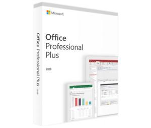 Microsoft Office Professional Plus 2019 (Windows)
