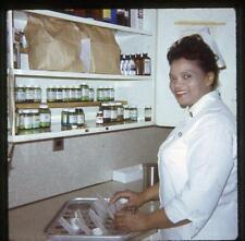 Pretty African-American Nurse Vintage 1969 Slide Photo Black Americana