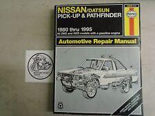 Haynes Manual 72030 Nissan/Datsun Pick-Up Pathfinder 1980-1995