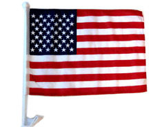 "12x18 USA American Stars and Stripes Car Window Vehicle 12""x18"" Flag 100D"