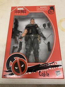 "Marvel Legends  Deadpool 2 Movie CABLE 6"" Figure Walmart Exclusive Brand New"