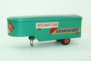 Tekno No 454 INTERNATIONAL TRANSPORT Truck Trailer only - Made In Denmark