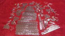Lot of Meccano Erector Metal Replacement Parts 100 pcs.