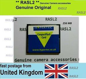 256 MB Compact Flash Card CF Memory Card for Nikon Olympus Canon