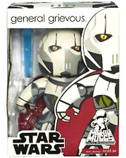 GENERAL GRIEVOUS Star Wars Mighty Muggs Wave 4 Vinyl Figure Comes w/2 Lightsaber