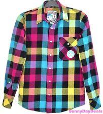 Neff Headwear Mens Shirt Cotton Plaid Flannel Long Sleeve Surf Skate Digi S