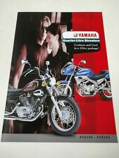 Yamaha XV 250S et FZX 250 de 2000 New Zealand Prospectus Catalogue Brochures...