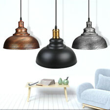 Industrial Rustic Ceiling Light Hanging Pendant Lamp Shade Fixture Chandeliers