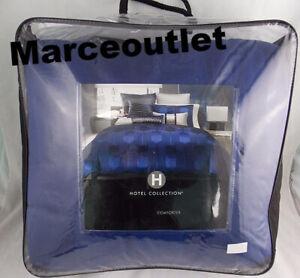 Hotel Collection Links Cobalt KING Comforter Blue