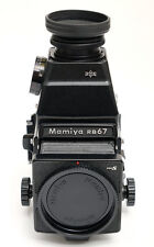 Mamiya RB 67 Pro S  Body + AE Lupensucher  + Warranty inc. 19% VAT