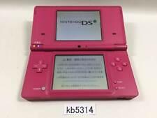 kb5314 Plz Read Item Condi Nintendo DSi DS Pink Console Japan