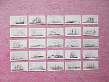 CIGARETTE CARDS - OLD SHIPS BY DOMINION TOBACCO