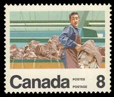 """CANADA 636 - Postal Services """"Mail Handler"""" (pa16557)"""