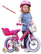 12 in (environ 30.48 cm) Minnie Bow-Tick Filles Vélo Disney Thème amovible stabilisateurs et
