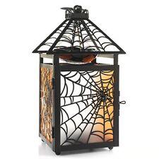 Spider Web Hanging Lantern Oil Tart Warmer Yankee Candle NEW halloween tealight