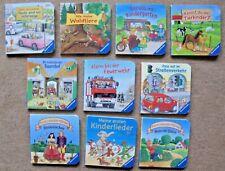 10 x Mini Buch Ravensburger Pappbilderbuch Gr.9 x 9 cm  für die lieben Kleinen