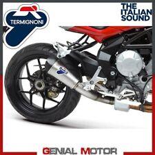 Exhaust Termignoni Steel Mv Brutale B3 675 800 Rivale 2012 > 2019