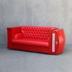 Telephone Phone Booth Sofa
