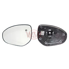 MAZDA 2 2007->2014 DOOR/WING MIRROR GLASS SILVER CONVEX,HEATED &BASE,LEFT SIDE