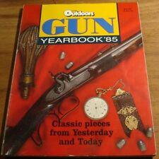 1985.GUN YEARBOOK Australian OUTDOORS.RUGER.PISTOL.RIFLE.Winchester MAGNUM .22