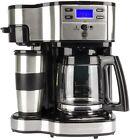 Hamilton Beach 2 Way Single Serve or 12 Cup Programmable Coffee Maker | 49980Z