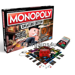 Monopoly Cheaters Edition - A Modern Version of a Classic Family Board Game NEW!