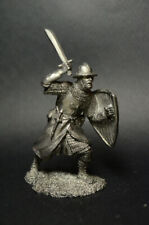 Tin soldier Knecht of the Teutonic Order 13 century figure metal soldiers 54 mm