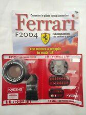Ferrari Formula 1 F2004 De Agostini Kyosho a Scoppio Ricambio N°04 04004 Nuovo