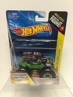 Hot Wheels Monster Jam: Grave Digger # 1 1:64 Scale Monster Truck
