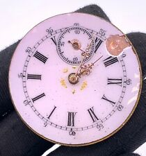Unknown Hand Manual Vintage 41 mm Doesn'T Works for Parts Pocket Watch