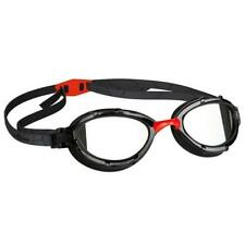 Mad Wave Triathlon Mirrored Goggles - Red