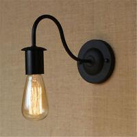 Retro Vintage Iron Industrial Loft Rustic Wall Sconce Light Outdoor Lamp