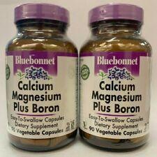 BLUEBONNET    CALCIUM MAGNESIUM PLUS BORON    90 CAPSULES    2 BOTTLES