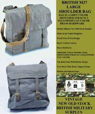 British M37 Large Shoulder Bag - Vintage New Old Stock - Bag Is A Grey Color