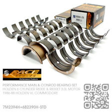 ACL RACE MAIN/CONROD BEARINGS STD SIZE 6-CYL RB30ET TURBO [HOLDEN VL COMMODORE]