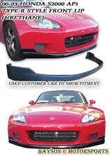OE-Style Front Lip (Urethane) Fits 00-03 Honda S2000 AP1