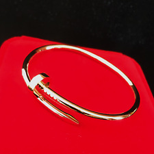 Just A Nail Bracelet SM/ Classic ~ 18 K Solid Gold AU 750 Made To Order
